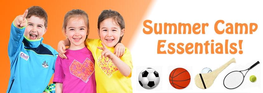 Summer Camp Gear for Kids