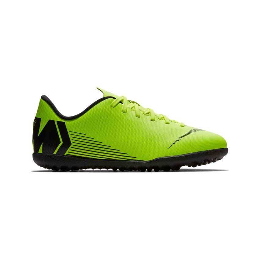 Nike Jr. VaporX 12 Club (TF) Artificial-Turf Football Boot Kids UK 13.5-5.5