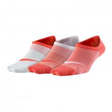Nike Everyday Plus Lightweight Training Footie (3 Pair) Women's