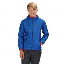 Regatta Kids' Lever II Lightweight Hooded Waterproof Jacket Boys