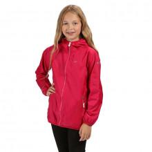 Regatta Kids' Lever II Lightweight Hooded Waterproof Jacket Girls