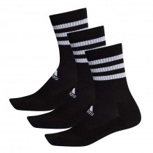 adidas 3 3tripes Cushioned Crew 3 Pack Socks