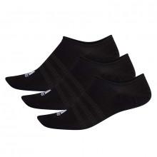 adidas No Show Socks 3 Pairs
