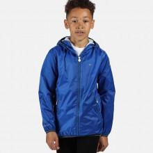 Regatta Kids' Lever II Lightweight Hooded Waterproof Jacket Boy's