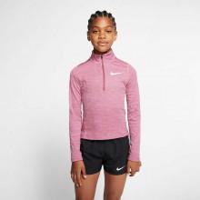 Nike Big Kids'  Long-Sleeve 1/2-Zip Running Top Girls'