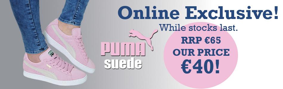 Puma Suede Offer